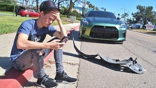Crashed My GTR...