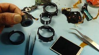 Canon IXUS 105 разборка и ремонт фотоаппарата(показана полная рзборка и чистка объектива., 2015-05-10T12:00:06.000Z)