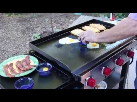 How to Cook Breakfast on the Flat Top Grill