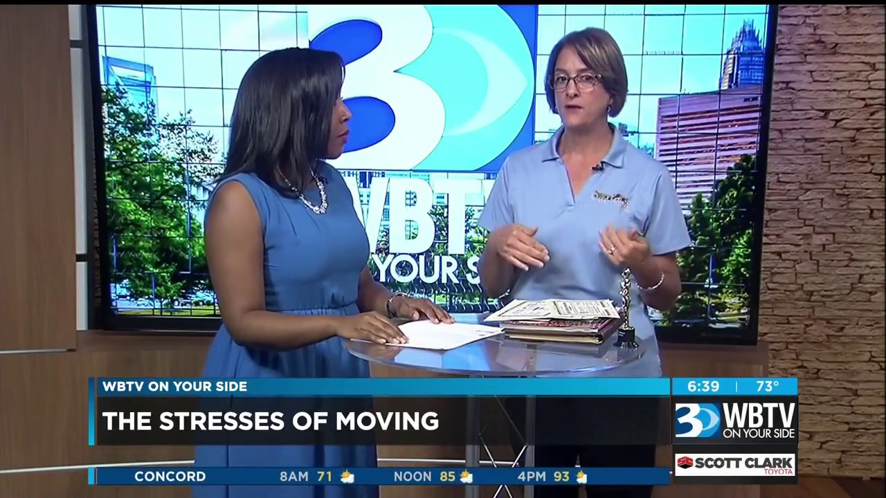 The Stresses of Moving - WBTV Charlotte • Our Town America, Inc