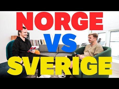 NORGE vs SVERIGE med Tungevaag og Raaban