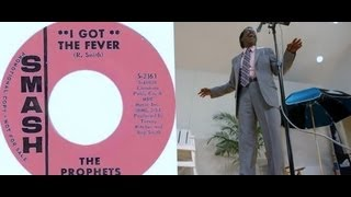 "Billy Scott & The Prophets  ""I Got The  Fever"""
