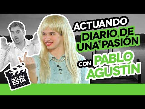 PABLO AGUSTÍN BESA A DOS HECATOMBE   ACTUAME ÉSTA: Diario de una pasión - Hecatombe Producciones