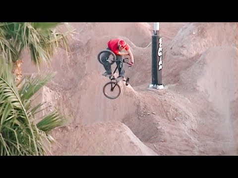 BMX and Backflips at TJ Lavin's