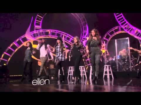 Fifth Harmony performing 'Better Together' on The Ellen Show