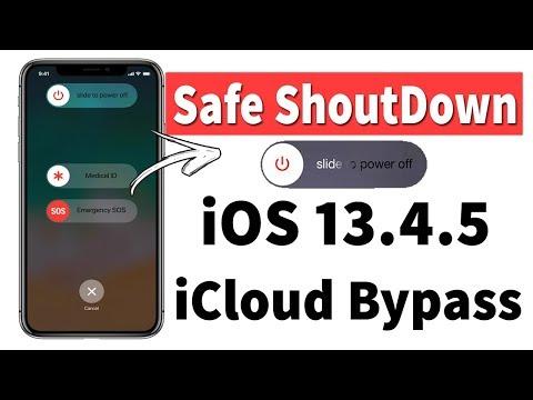 Safe Shut Down✔ IOS 13.4 & 13.4.5 IPhone Boot Loop Restart Fixed  ICloud Bypass