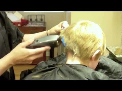 How To Do A Kids Haircut Little Boys Hairstyle Clipper