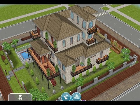 Sims freeplay la casa bricolocura recorrido for Casa de diseno the sims freeplay