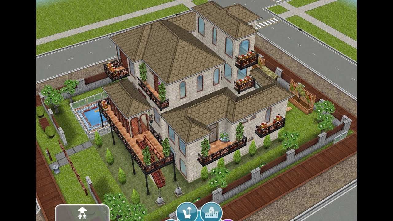 Sims freeplay tips tomar fotos completas del exterior for Casa de diseno sims freeplay