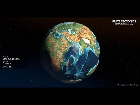 Animated Maps: Tectonic Plate Movement