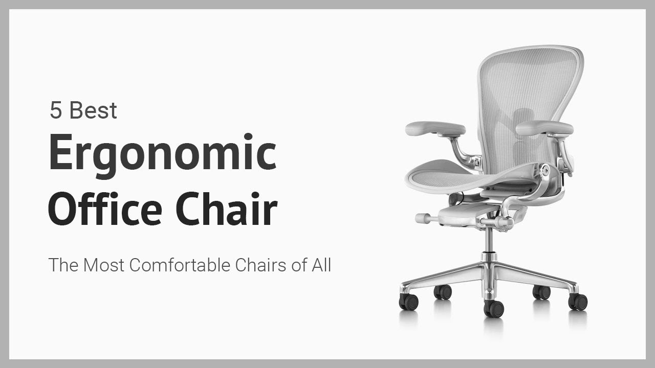 5 Best Ergonomic Office Chair Most Executive Office Chairs Reviews Youtube