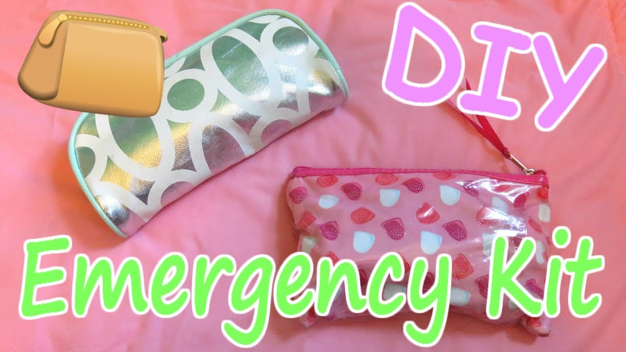Diy Emergency Kit For School Youtube