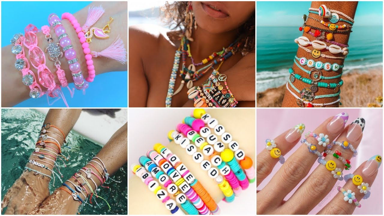 50 DIY - SUMMER JEWELRY IDEAS - Bracelet, Necklace and more..