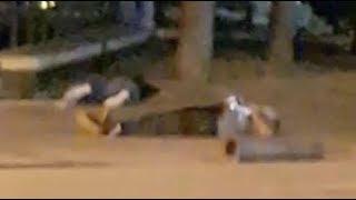 بالفيديو...اللقطات الأولى للهجوم الإرهابي في إسبانيا