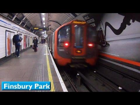 London Underground : Finsbury Park | Victoria line ( 2009 Tube Stock )
