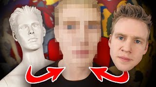 I PAINT a MANNEQUIN as MYSELF! - Does it Look Like Me???