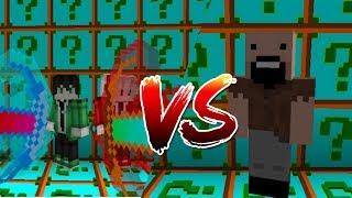เปิดกล่องที่โครตกากที่สุด!! ปะทะ น็อต Notch คนสร้างเกมมายคราฟ (Minecraft Lucky Block Vs Notch)