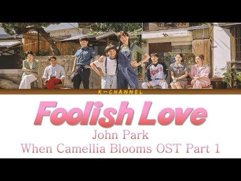 Foolish Love 이상한 사람 - John Park 존박   When Camellia Blooms 동백꽃 필 무렵 OST Part 1   Han/Rom/가사/Eng