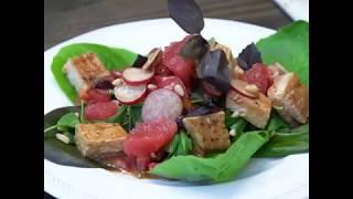 Фитнес салат с индейкой