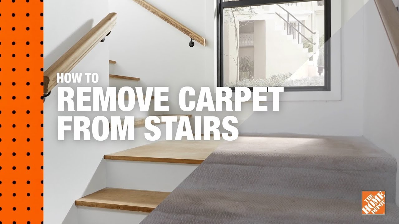 How To Remove Carpet From Stairs Diy Digital Workshops Youtube   Cost To Re Carpet Stairs   Wood Flooring   Square Foot   Laminate Flooring   Hardwood Stairs   Rug