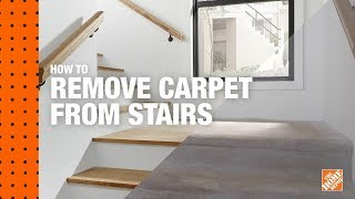 How to Remove Carpet from Stairs   DIY Digital Workshops