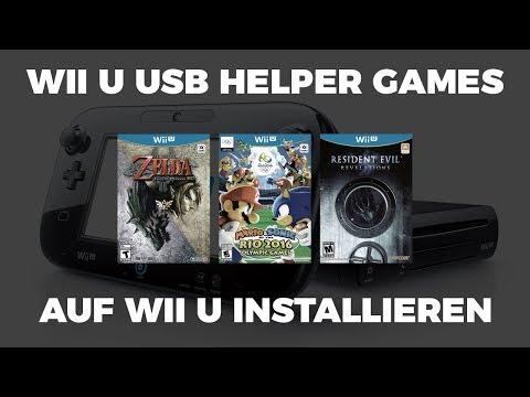 Wii U Usb Helper Games Auf Wii U Installieren