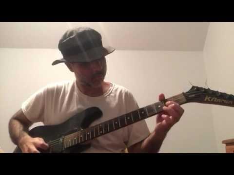 """Vito Bratta White Lion - """"Tell Me"""" (lead guitar solo cover)"""