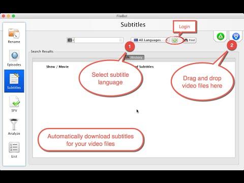 Automatic Subtitle Lookup