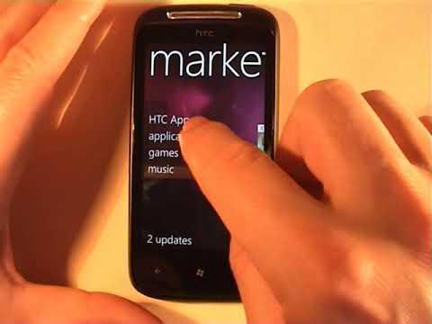 HTC 7 Mozart Windows Phone 7