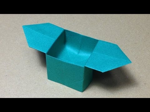 折り方 折り紙四角箱折り方 : ... 折り方 作り方 簡単 実用