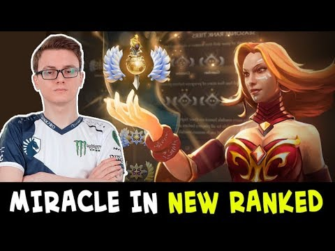 Miracle FIRST games in new SEASONAL RANKED — vs Resolution and Cancel