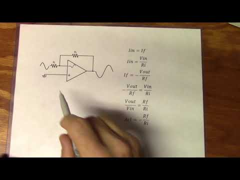 59. Op Amp Basics Part 3: Inverting and Non-Inverting Op Amps
