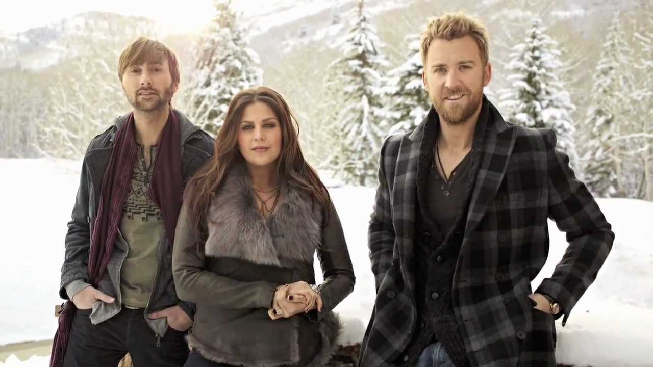 lady antebellum christmas album on this winters night youtube