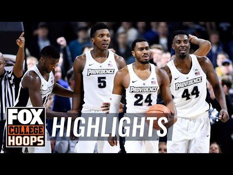 Providence vs Georgetown | Highlights | FOX COLLEGE HOOPS