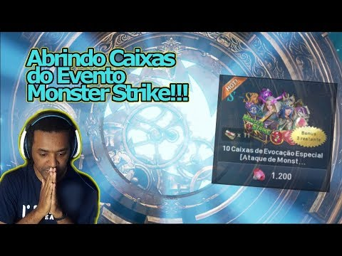 Lineage 2 Revolution: Abrindo Caixas Da SORTEEEE! Caixas Evento Monster Strike!!! Omega Play