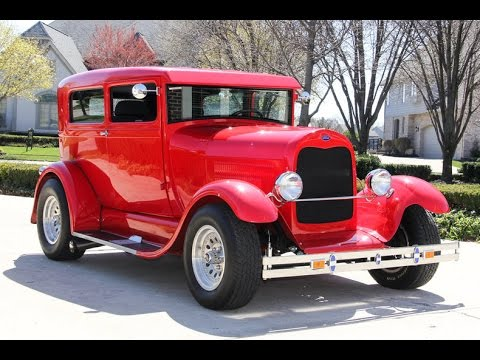 1929 Ford Model A Street Rod For Sale