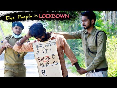Desi People in Lockdown ft Pooja Khatkar | Hum Haryanvi 2020