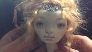 Адель авторская текстильная кукла ручной работы