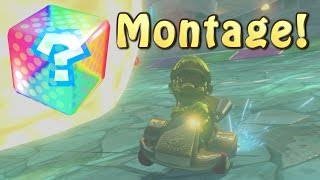 Mario Kart 8 Online Item Funny Moments Montage