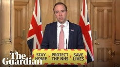 Matt Hancock: UK human trials for coronavirus vaccine to begin on Thursday