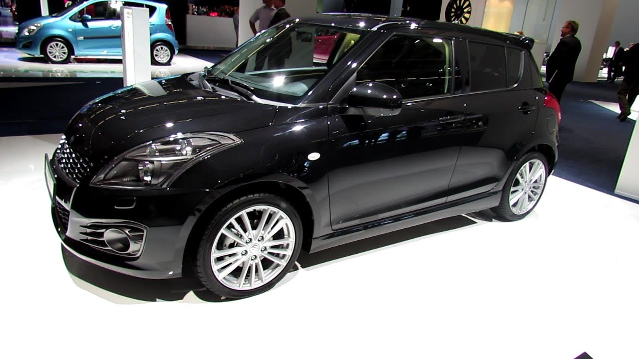 2014 Suzuki Swift Sport   Exterior And Interior Walkaround 2013 Frankfurt  Motor Show   YouTube