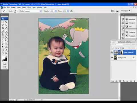 Hoc xu ly anh photoshop Hocphotoshop.com Huong dan Tang do ruc ro anh nghe thuat