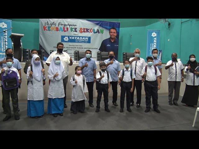 Yayasan Bank Rakyat hulur bantuan kelengkapan sekolah kepada 15,000 pelajar