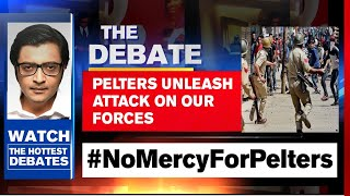Forces Annihilate Jaish Terror In Pulwama; Pelters Unleash | The Debate With Arnab Goswami