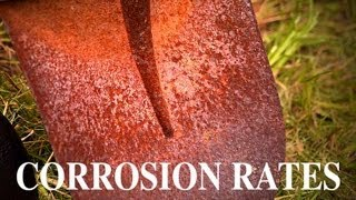 Corrosion Rate in Salt Water