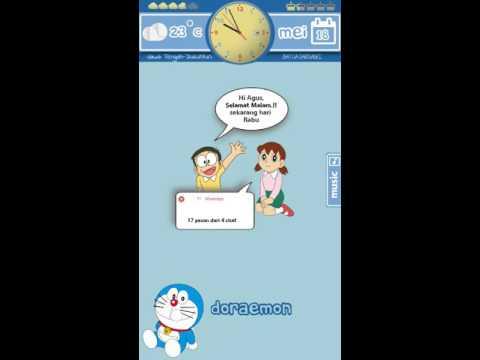 KLWP - Doraemon Skin Edisi Ramadhan