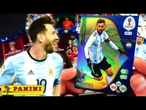 MESSI TOP MASTER im PACK! 😱🔥 PANINI ADRENALYN XL WM 2018
