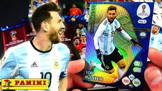 Panini Adrenalyn XL World Cup 2018 Lionel Messi Top Master no 463
