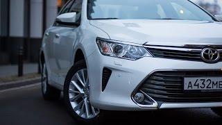 Тест-драйв Toyota Camry 2015 отзыв после эксплуатации владельцем