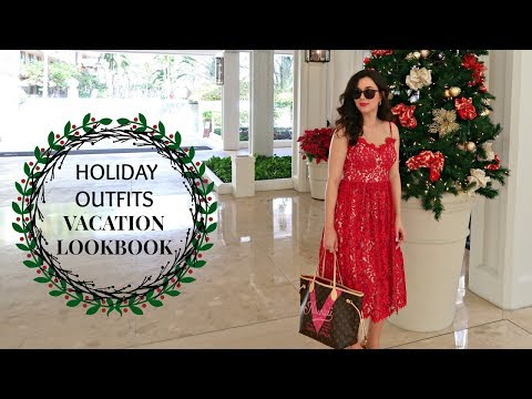 HOLIDAY OUTFITS VACATION LOOKBOOK